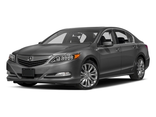 Graphite Luster Metallic 2017 Acura RLX Pictures RLX Sedan 4D Technology V6 photos front view
