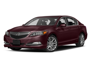 Pomegranate Pearl 2017 Acura RLX Pictures RLX Sedan w/Technology Pkg photos front view