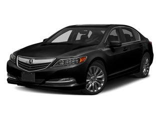 Crystal Black Pearl 2017 Acura RLX Pictures RLX Sedan w/Advance Pkg photos front view