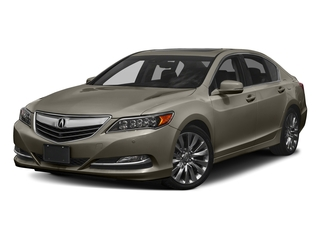 Gilded Pewter Metallic 2017 Acura RLX Pictures RLX Sedan w/Advance Pkg photos front view