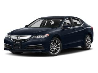 Fathom Blue Pearl 2017 Acura TLX Pictures TLX FWD V6 w/Technology Pkg photos front view