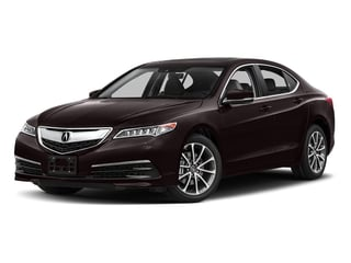 Black Copper Pearl 2017 Acura TLX Pictures TLX FWD V6 w/Technology Pkg photos front view