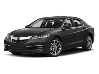 Modern Steel Metallic 2017 Acura TLX Pictures TLX Sedan 4D Technology V6 photos front view