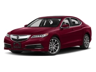 San Marino Red 2017 Acura TLX Pictures TLX FWD V6 w/Technology Pkg photos front view