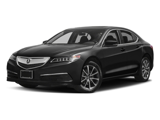 Crystal Black Pearl 2017 Acura TLX Pictures TLX Sedan 4D Technology AWD V6 photos front view