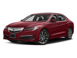 San Marino Red 2017 Acura TLX Pictures TLX Sedan 4D Technology AWD V6 photos front view