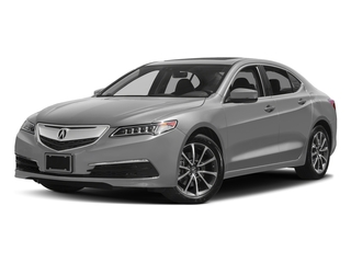 Lunar Silver Metallic 2017 Acura TLX Pictures TLX Sedan 4D Technology AWD V6 photos front view