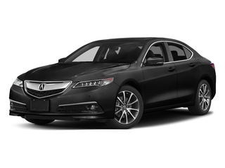 Crystal Black Pearl 2017 Acura TLX Pictures TLX Sedan 4D Advance AWD V6 photos front view