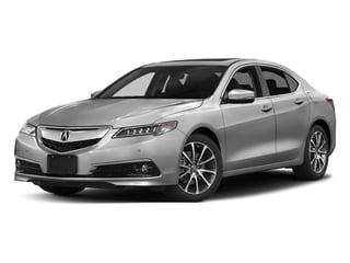 Lunar Silver Metallic 2017 Acura TLX Pictures TLX Sedan 4D Advance AWD V6 photos front view