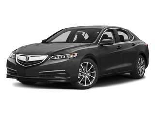 Modern Steel Metallic 2017 Acura TLX Pictures TLX Sedan 4D V6 photos front view