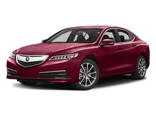 San Marino Red 2017 Acura TLX Pictures TLX Sedan 4D V6 photos front view