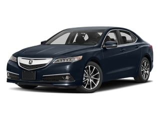 Fathom Blue Pearl 2017 Acura TLX Pictures TLX Sedan 4D Advance V6 photos front view