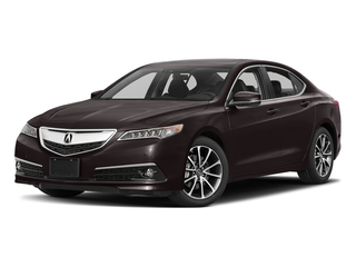 Black Copper Pearl 2017 Acura TLX Pictures TLX FWD V6 w/Advance Pkg photos front view