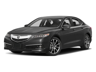 Modern Steel Metallic 2017 Acura TLX Pictures TLX Sedan 4D Advance V6 photos front view
