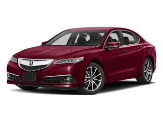 San Marino Red 2017 Acura TLX Pictures TLX FWD V6 w/Advance Pkg photos front view