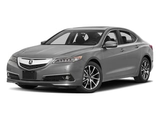 Lunar Silver Metallic 2017 Acura TLX Pictures TLX Sedan 4D Advance V6 photos front view