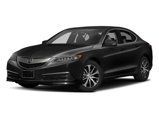 Crystal Black Pearl 2017 Acura TLX Pictures TLX Sedan 4D Technology I4 photos front view
