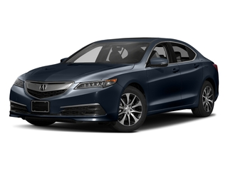 Fathom Blue Pearl 2017 Acura TLX Pictures TLX Sedan 4D Technology I4 photos front view