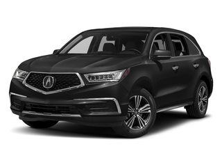 Crystal Black Pearl 2017 Acura MDX Pictures MDX Utility 4D AWD V6 photos front view