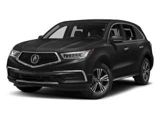 Crystal Black Pearl 2017 Acura MDX Pictures MDX SH-AWD photos front view