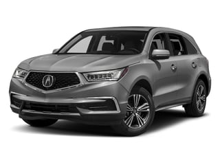 Lunar Silver Metallic 2017 Acura MDX Pictures MDX SH-AWD photos front view