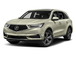 White Diamond Pearl 2017 Acura MDX Pictures MDX SH-AWD photos front view