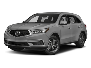 Lunar Silver Metallic 2017 Acura MDX Pictures MDX FWD photos front view