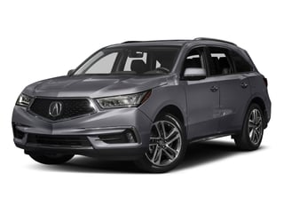 Lunar Silver Metallic 2017 Acura MDX Pictures MDX Utility 4D Advance 2WD V6 photos front view