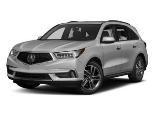 Lunar Silver Metallic 2017 Acura MDX Pictures MDX SH-AWD w/Advance Pkg photos front view