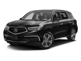 Crystal Black Pearl 2017 Acura MDX Pictures MDX FWD w/Technology Pkg photos front view