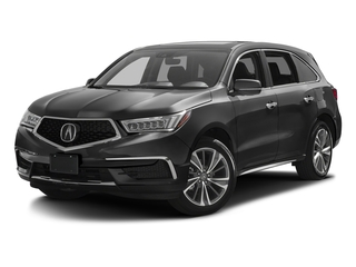 Modern Steel Metallic 2017 Acura MDX Pictures MDX Utility 4D Technology 2WD V6 photos front view