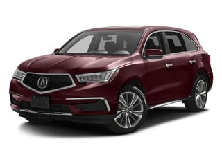 Dark Cherry Pearl 2017 Acura MDX Pictures MDX FWD w/Technology Pkg photos front view