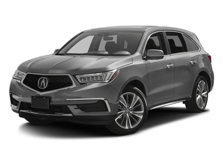 Lunar Silver Metallic 2017 Acura MDX Pictures MDX FWD w/Technology Pkg photos front view