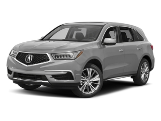 Lunar Silver Metallic 2017 Acura MDX Pictures MDX Utility 4D Technology AWD V6 photos front view