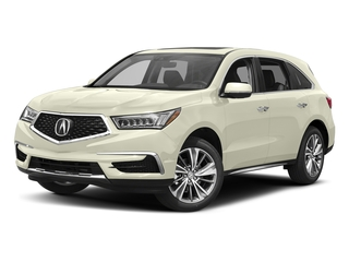 White Diamond Pearl 2017 Acura MDX Pictures MDX Utility 4D Technology AWD V6 photos front view
