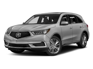Lunar Silver Metallic 2017 Acura MDX Pictures MDX Utility 4D Technology DVD 2WD V6 photos front view