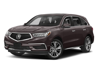 Black Copper Pearl 2017 Acura MDX Pictures MDX Utility 4D Technology DVD AWD V6 photos front view
