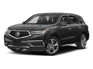 Crystal Black Pearl 2017 Acura MDX Pictures MDX Utility 4D Technology DVD AWD V6 photos front view