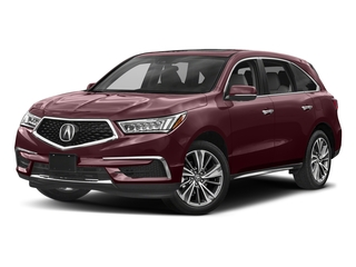 Dark Cherry Pearl 2017 Acura MDX Pictures MDX Utility 4D Technology DVD AWD V6 photos front view