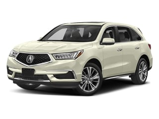 White Diamond Pearl 2017 Acura MDX Pictures MDX Utility 4D Technology DVD AWD V6 photos front view