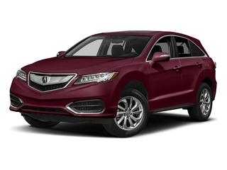 Basque Red Pearl II 2017 Acura RDX Pictures RDX Utility 4D AWD V6 photos front view