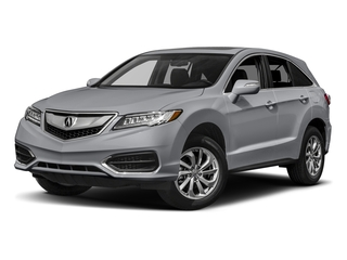 Lunar Silver Metallic 2017 Acura RDX Pictures RDX Utility 4D AWD V6 photos front view