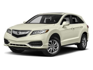 White Diamond Pearl 2017 Acura RDX Pictures RDX AWD photos front view