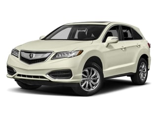 White Diamond Pearl 2017 Acura RDX Pictures RDX Utility 4D AWD V6 photos front view