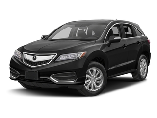 Crystal Black Pearl 2017 Acura RDX Pictures RDX Utility 4D Technology 2WD V6 photos front view