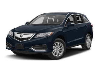 Fathom Blue Pearl 2017 Acura RDX Pictures RDX Utility 4D Technology 2WD V6 photos front view