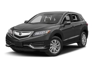 Modern Steel Metallic 2017 Acura RDX Pictures RDX Utility 4D Technology 2WD V6 photos front view