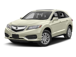 White Diamond Pearl 2017 Acura RDX Pictures RDX Utility 4D Technology 2WD V6 photos front view