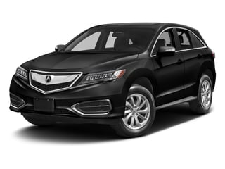 Crystal Black Pearl 2017 Acura RDX Pictures RDX FWD photos front view