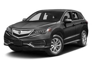 Modern Steel Metallic 2017 Acura RDX Pictures RDX Utility 4D 2WD V6 photos front view